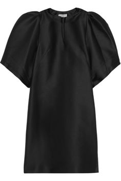 FABBY LBD!!!  MULBERRY // Structured wool-blend dress