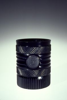 Hyalith Beaker | Corning Museum of Glass  Glassworks of the Count of Buquoy, Maker