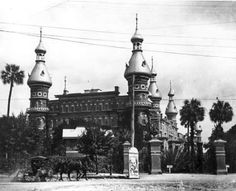 Tampa Bay Hotel in 1898 - now the University of Tampa.