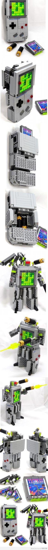Lego Gameboy Transformer!