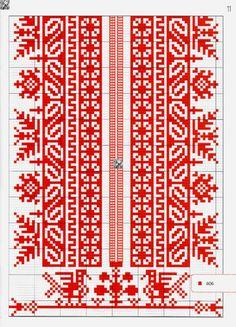 Gallery.ru / Фото #11 - №42(2) 2016 - irinask Folk Embroidery, Embroidery Fashion, Embroidery Stitches, Cross Stitch Bird, Cross Stitch Patterns, Adult Crafts, Diy And Crafts, Folk Fashion, Diy Fashion