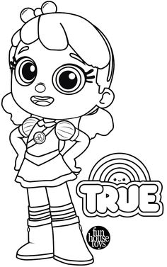 True and Bartleby from True and the Rainbow Kingdom ...