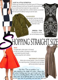 BLOG UPDATE: Straight Size Shopping - Ever wonder how some plus size girls still shop the regular sizes -- I try and take the mystery out in this post