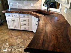Supreme Kitchen Remodeling Choosing Your New Kitchen Countertops Ideas. Mind Blowing Kitchen Remodeling Choosing Your New Kitchen Countertops Ideas. New Kitchen, Kitchen Decor, Walnut Kitchen, Kitchen Ideas, Wooden Kitchen, Natural Kitchen, Rustic Kitchen, Walnut Slab, Walnut Countertop