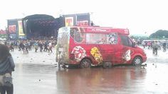 T in the Park - anyone for an ice cream?