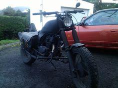 Honda CB250 nighthawk Rat Bike