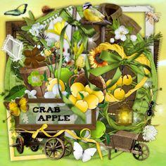 Crab Apple - Digital Scrapbook Kit
