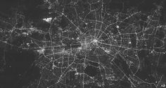 Copyright © 2011 WEW FU Berlin / IGB  Mosaic Image of Berlin Light Pollution