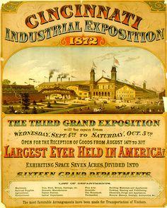 Cincinnati Skyline, Wood Crates, Retro Design, Historical Photos, Kentucky, Ohio, Victorian, History, City