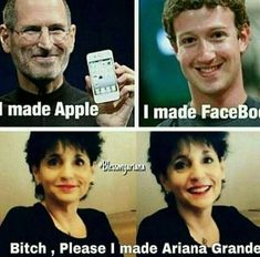 True lol u can't possibly beat that Stupid Funny Memes, Funny Relatable Memes, Haha Funny, Lol, Ariana Grande Meme, Ariana Grande Pictures, Ariana Video, Dangerous Woman Tour, Ariana Grande Wallpaper
