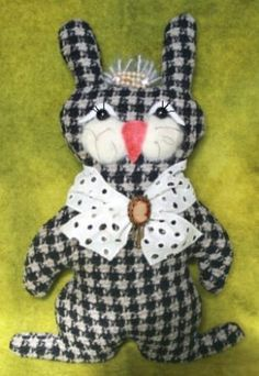 Download Belindy and Bo, Our Recycled Bunnies Sewing Pattern   What's New   YouCanMakeThis.com