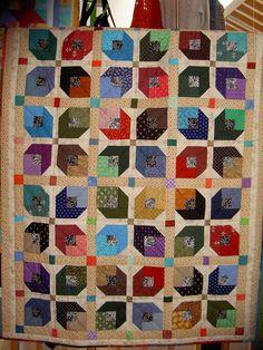 """Quilts & Patchwork - """"Herbst"""" Quilt Plaid Patchwork - ein Designerstück von gertrude-k bei DaWanda"""