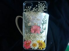 Real Pressed Flower iPhone 5 CaseiPhone 6 CaseiPhone by smallone2