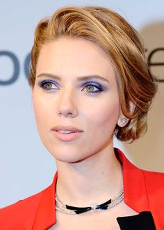 Scarlett Johansson - styled waves and low twist