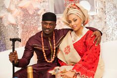 Nigeria Is Blessed With Culture. Some Beautiful Traditional Marriage Pictures - Culture - Nigeria Nigerian Traditional Wedding, Traditional Wedding Attire, Traditional Outfits, Mc Don Juan, Igbo Wedding, Nigerian Weddings, African Weddings, Entertainment, African Attire