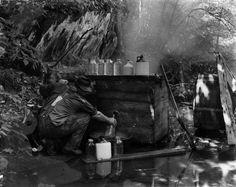 Pictures of Old Moonshiners | 164 Antique Primitive Large Wooden Mash Stirrer Paddle for Moonshine