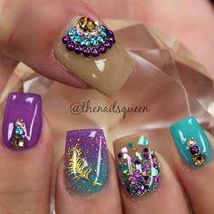 #nails #nailart #nailswag #notpolish #naildesigner #tampanails #anastasiabeverlyhills #hudabeauty #vegas_nay #lutznails #wesleychapelnails #floridanails