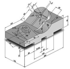icu ~ Pin on Cad design ~ - Extreme SolidWorks: Models and drawings for exercise SolidWorks, 0001 - Isometric Drawing Exercises, Autocad Isometric Drawing, Mechanical Engineering Design, Mechanical Design, Mechatronics Engineering, Mechanical Projects, Mechanical Art, Geometric Drawing, Geometric Graphic