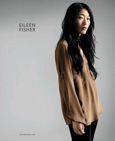 Model: Jihae Kim (Wilhelmina) Ad Campaign: Eileen Fisher, Fall 2011/Winter 2012 Photographer:  Gentl & Hyers Stylist: Unknown Hair: Unknown ...