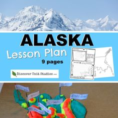 Discover Unit Studies offers FUN curriculum that uses EASY Hands-On-Projects that your kids will LOVE! We sell all supplies needed for each curriculum set. Cars Preschool, Preschool Workbooks, Preschool Lesson Plans, Preschool Activities, Geography Lesson Plans, Geography Worksheets, Teaching Geography, Hands On Geography, Alaska