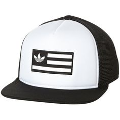 Adidas Trucker Cap (155 HRK) ❤ liked on Polyvore featuring men s fashion ef27258f2aa