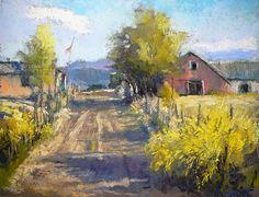 Truchas Sunlight by Margi Lucena Pastel ~ 11 x 14