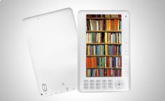 """Sin excusa para no leer! eBook 7"""" 1000 Libros de Regalo a partir de 49,90€ http://www.doferta.com/ebook-7-pulgadas-+-1000-libros-de-regalo.html"""