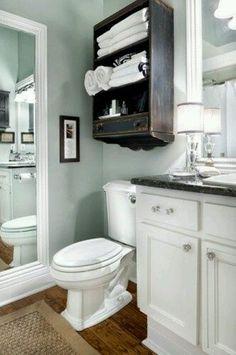 hardwood floor in bathroom, rustic, modern bathroom