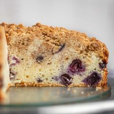 Blueberry Coffee Cake is the perfect breakfast cake full of plump fresh blueberries, cinnamon and brown sugar with a crumbly top and a soft tender cake. Breakfast Cake, Sweet Breakfast, Breakfast Recipes, Perfect Breakfast, Easy Banana Bread, Banana Bread Recipes, Cinnamon Streusel Muffins, Pecan Cobbler, Peanut Butter Chips