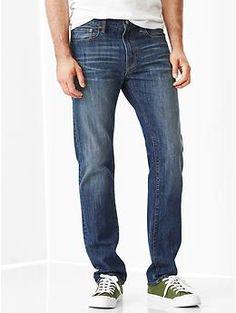 1969 standard taper fit jeans (worn blue wash) | Gap