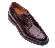 Alden 975 Long Wing Blucher in #8 Shell Cordovan on Barrie