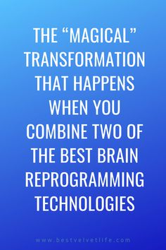 The 'magical' transformation that happens when you combine two of the best brain reprogramming technologies. Crystals For Manifestation, Manifestation Meditation, Manifestation Law Of Attraction, Yoga To Relieve Stress, Best Brains, Release Stress, Brain Waves, How To Manifest, Subconscious Mind