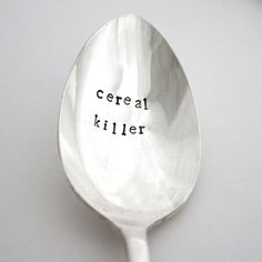 Cereal Killer Spoons made in Richmond, VA by Milk and Honey Luxuries. Purchase to support American workers. Gets you 448 Boom™ Points.