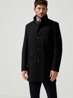 CLASSICK - COAT, Black, large