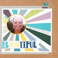 Turn your paper scraps into beautiful layouts! #scrapbooking #inspiration