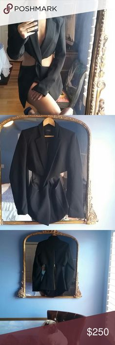 Don't miss it!!!Blazer stunning Exclusive design ,high quality , but don't fit meee  :( I am small and this is medium or large, new!!!! From Rio dear Janeiro amazing!!!!has a food finish Rio de janiero Jackets & Coats Blazers