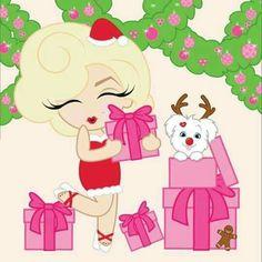 Marilyn Monroe Merry Christmas