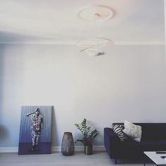 Nice Living Room on instagram via@minadyrst :  #artemide #martinwhatson