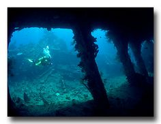 Liberty Wreck Tulamben - Copyright Jeff Mullins 2010