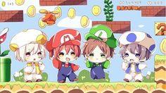 ロールプレイングゲーム/そらまふうらさか Anime Chibi, Kawaii Anime, Anime Manga, Anime Art, Vocaloid, Chibi Characters, Fanart, Boy Art, Me Me Me Anime