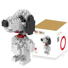 130 Pcs M - 9330 PEANUTS Snoopy Building Block Educational Toy for Spatial Thinking-$2.81