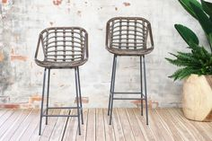 Tub style Barstools | Naturally Cane Rattan and Wicker Furniture Counter Height Bar Stools, Kitchen Stools, Wicker Furniture, Rattan, Tub, Dining Chairs, House Ideas, Heart, Home Decor