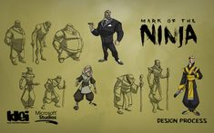 Mark of the Ninja, secondary character evolution — Character design, development Character Design Animation, Character Art, Best Foundation For Oily Skin, Ninja Art, Modern Games, Body Sketches, Girl Posters, 2d Art, Pose Reference