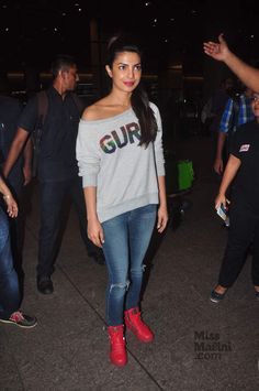 International superstar, Priyanka Chopra just proved that she can make any outfit look like a million bucks.