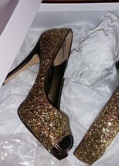 Kup mój przedmiot na #vintedpl http://www.vinted.pl/damskie-obuwie/na-wysokim-obcasie/18092796-nine-west-piekne-zlote-szpilki-r36