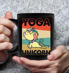 Yoga Unicorn Unicorn Pun Mugs Hilarious Mug Sassy Mugs Funny Mug For Women Cool Gifts For Women, Great Gifts, Unicorn Puns, Pretty Mugs, Cool Mugs, Funny Mugs, Mug Designs, Printing Process, Sarcasm