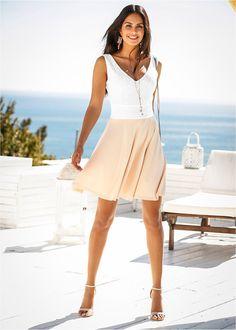 Spitzenkleid wollweiß/mango - BODYFLIRT jetzt im Online Shop von bonprix.de ab ? 25,99 bestellen. Romantisches Spitzenkleid der Marke BODYFLIRT. Das Kleid ...