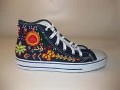 Peruvian Embroidered Sneakers