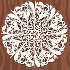 note to self: scroll down the step 7 for how to do the detailing on the shadow How to Create a Digital Doodled Snowflake in Adobe #Illustrator