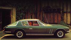 Jensen Interceptor FF ... the world's first four-wheel drive GT.